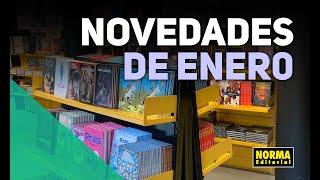 NOVEDADES ENERO - CÓMIC AMERICANO