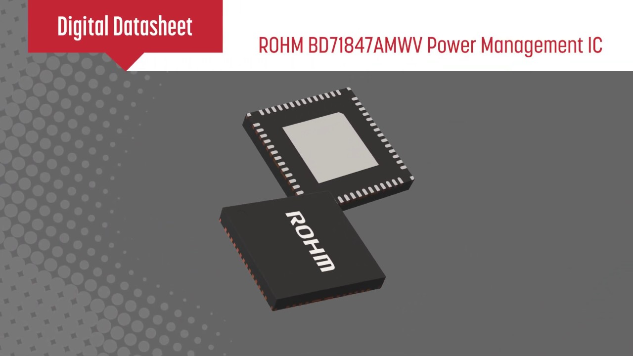 System PMIC for i MX 8M Mini Family - BD71847AMWV | ROHM
