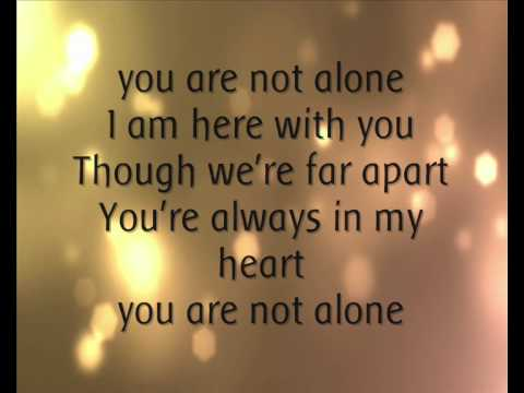 Michael Jackson   You Are Not Alone. .