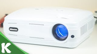 Alfawise X 3200 Lumen Projector | Responsive 720P Projector | Ji bo For Gaming Good
