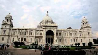 Victoria Memorial : A Majestic Structure In White Marble, Modeled On Taj Mahal