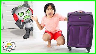Ryan travels around the world catching Robo Combo!!