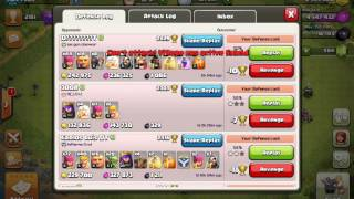 I CAN'T REVENGE ANYTHING SO I DECIDED TO RAGE QUIT - Clash Of Clans Gameplay