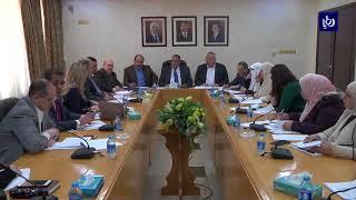 لجنة السكان النيابية تبحث آليات تعديل قانون العمل لسنة 2010 - (30-1-2018)
