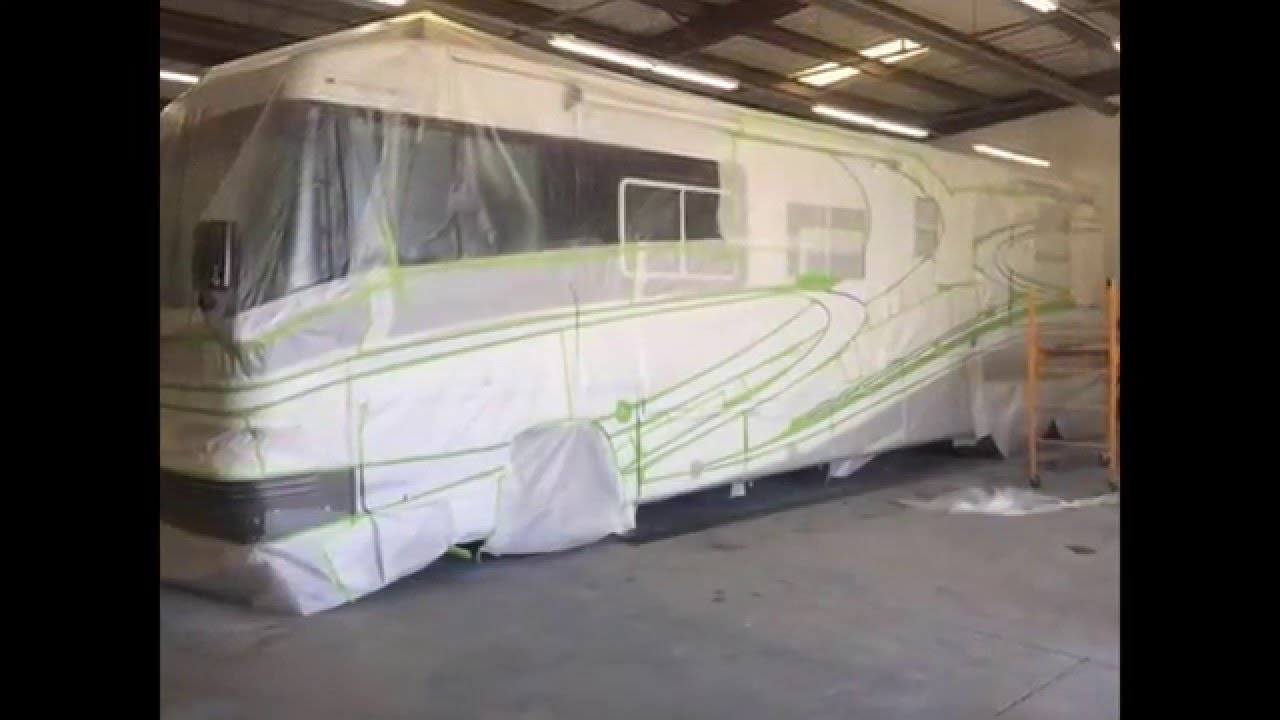 Phoenixs only rv custom paint and stripes shop