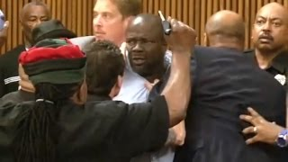 Father of 18-Year-Old Murder Victim Attacks Serial Killer In Courtroom
