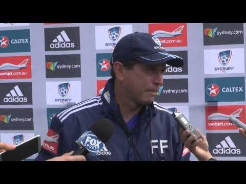 Frank Farina Pre #SydneyDerby