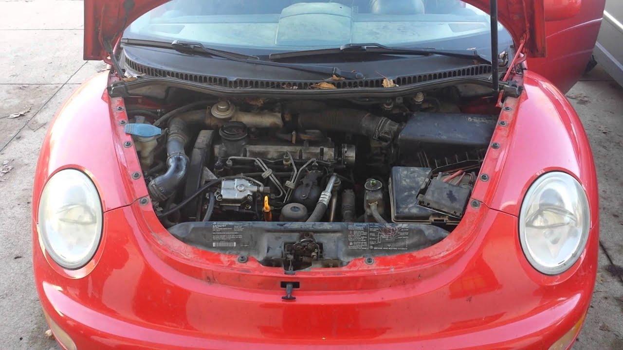 2001 volkswagen new beetle gls tdi
