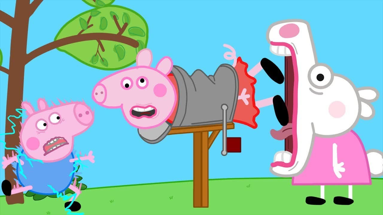 Download 100 Days - Peppa and Roblox Piggy Funny Animation