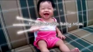 Baby Mim Pa'cuteness Overload! Little Birdy | Funny Videos ♥♡