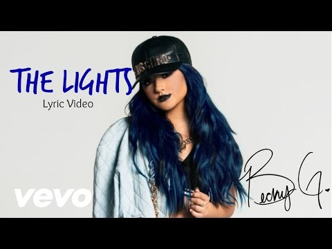 Becky G - The Lights (Lyric Video)