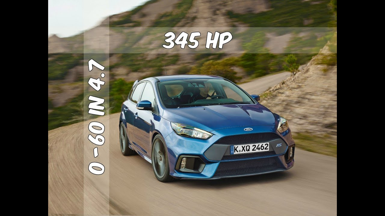 2016 ford focus rs what we know and why we love it doovi. Black Bedroom Furniture Sets. Home Design Ideas