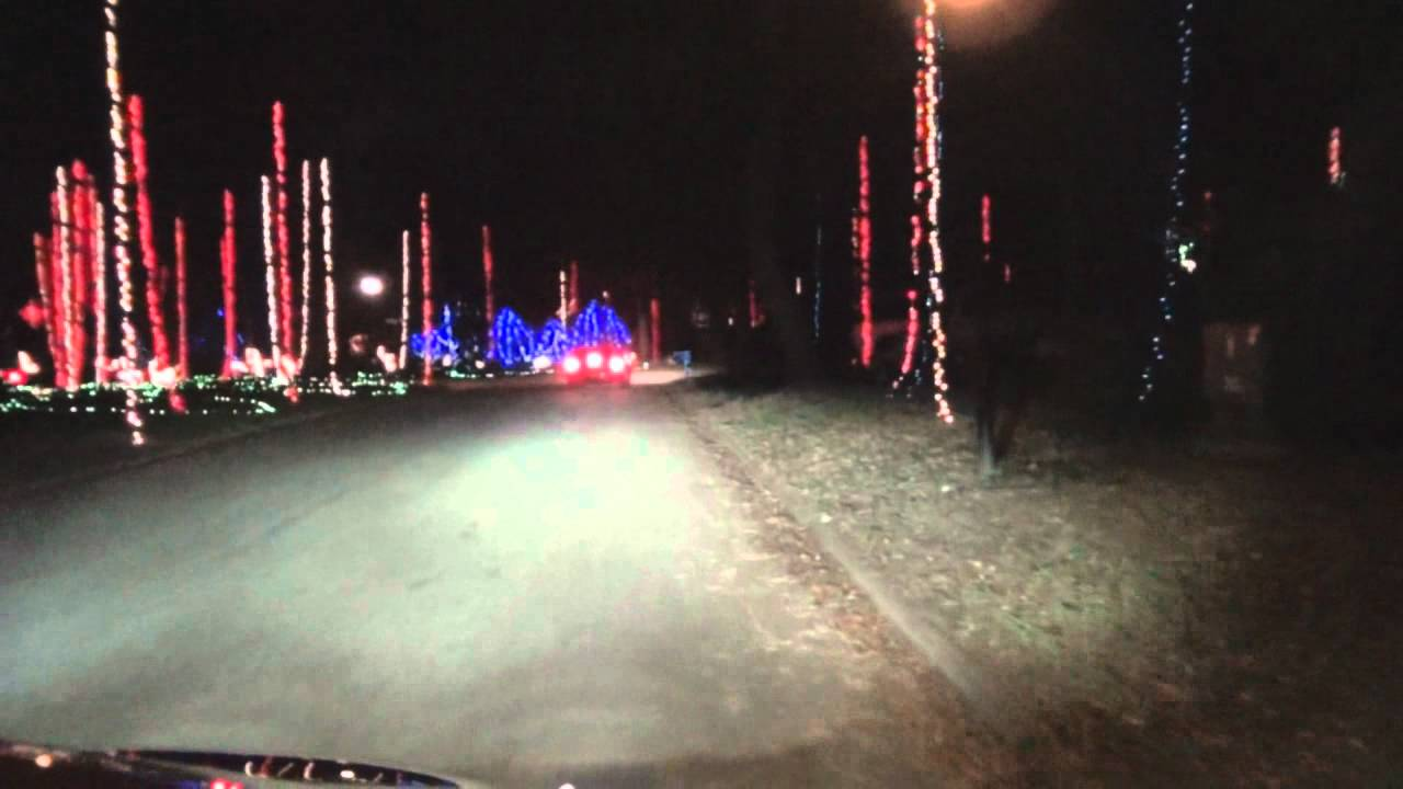 jacksonville beach florida christmas lights december 2011 youtube