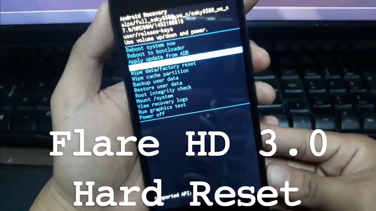 Cherry Mobile Flare HD 3 0 Hard Reset