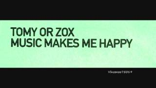 Tomy Or Zox - Music Makes Me Happy (Mainframe Remix) 2001 Promo