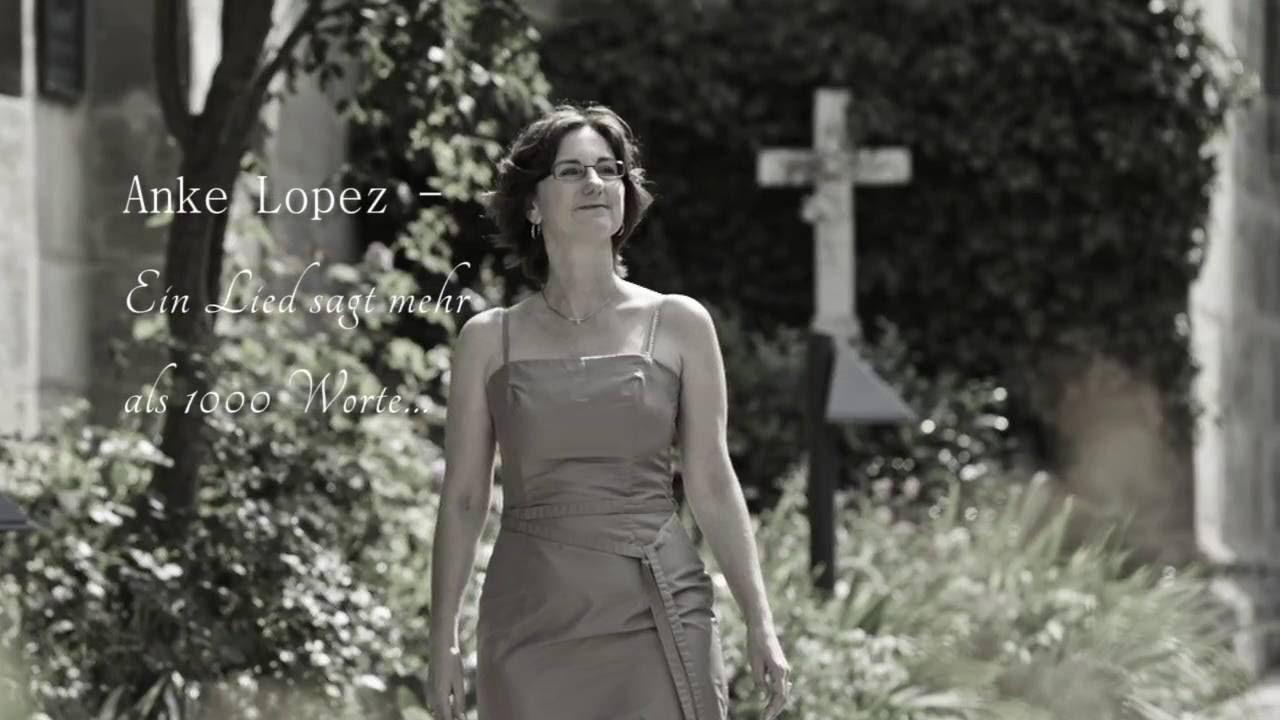 """Cover """"Angel"""" von Sängerin Anke Lopez für Trauerfeier und Beerdigung in und um Nürnberg"""