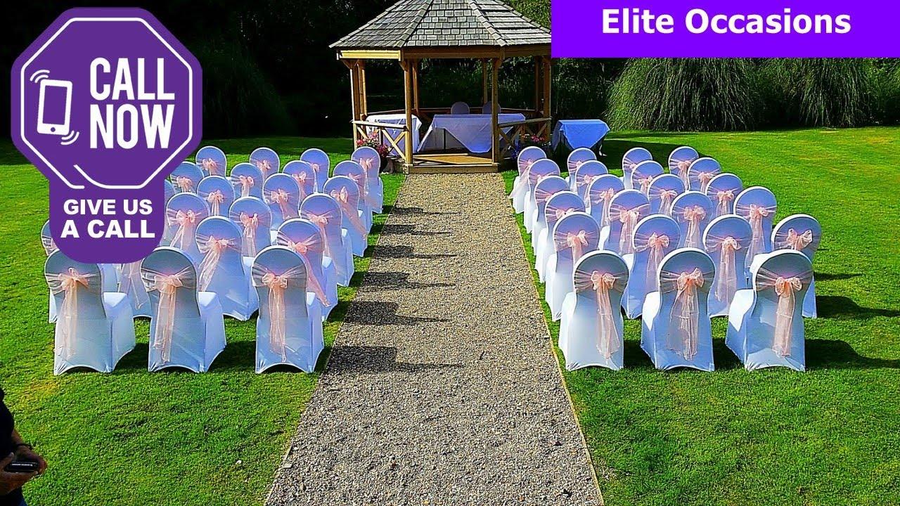 chair cover hire telford shropshire karma living butterfly wedding hiretelford youtube