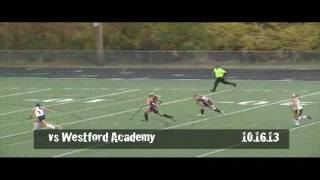 Acton Boxborough Varsity Girls Field Hockey vs Westford 10/16/13