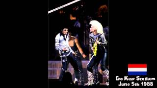 Michael Jackson - Heartbreak Hotel Bad Tour Rotterdam 1988 HD AUDIO Remastered