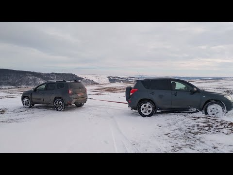 Dacia Duster Pulls out the Toyota Rav 4 - Offroad Adventures