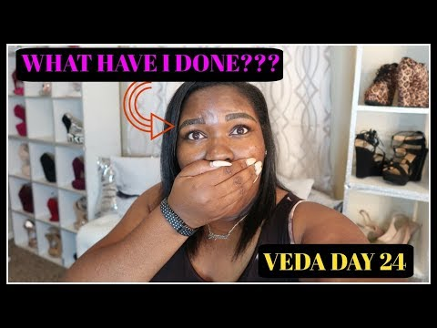 Microblading Healing Day 1: What Have I Done?? VEDA DAY 24