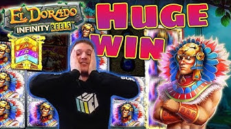 HUGE WIN on El Dorado Infinity Reels Slot - £10 Bet!