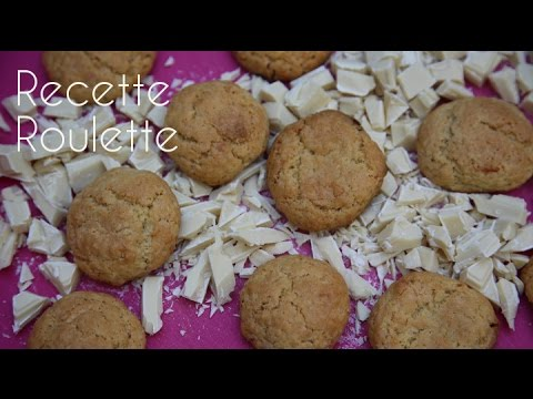 Cookies au chocolat blanc !