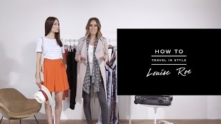 HOW TO: Travel In Style - REISS