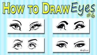 Download lagu How To Draw Caricature Eyes - Women's