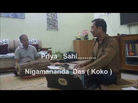 "Odia Champu .""Priya  Sahi.. ""  by Nigamananda Das , Presentation of Durga Charan Mishra"