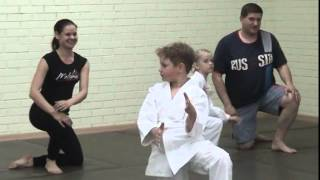 Совместная тренировка детей и родителей