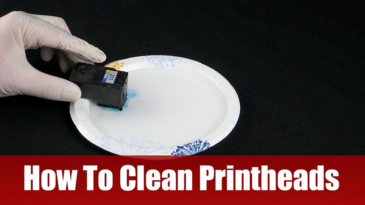 How to clean printheads youtube