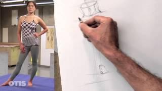 Gesture Drawing I with Chris Warner (Otis College)