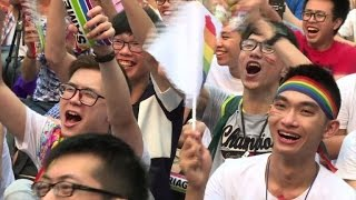 vuclip Taiwan court rules in favour of gay marriage in Asia first