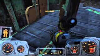 PS4 Fallout 4 Даймонд сити секретная локация