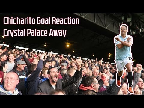 Javier Chicharito Hernandez Goal v Crystal Palace | Crowd Celebration