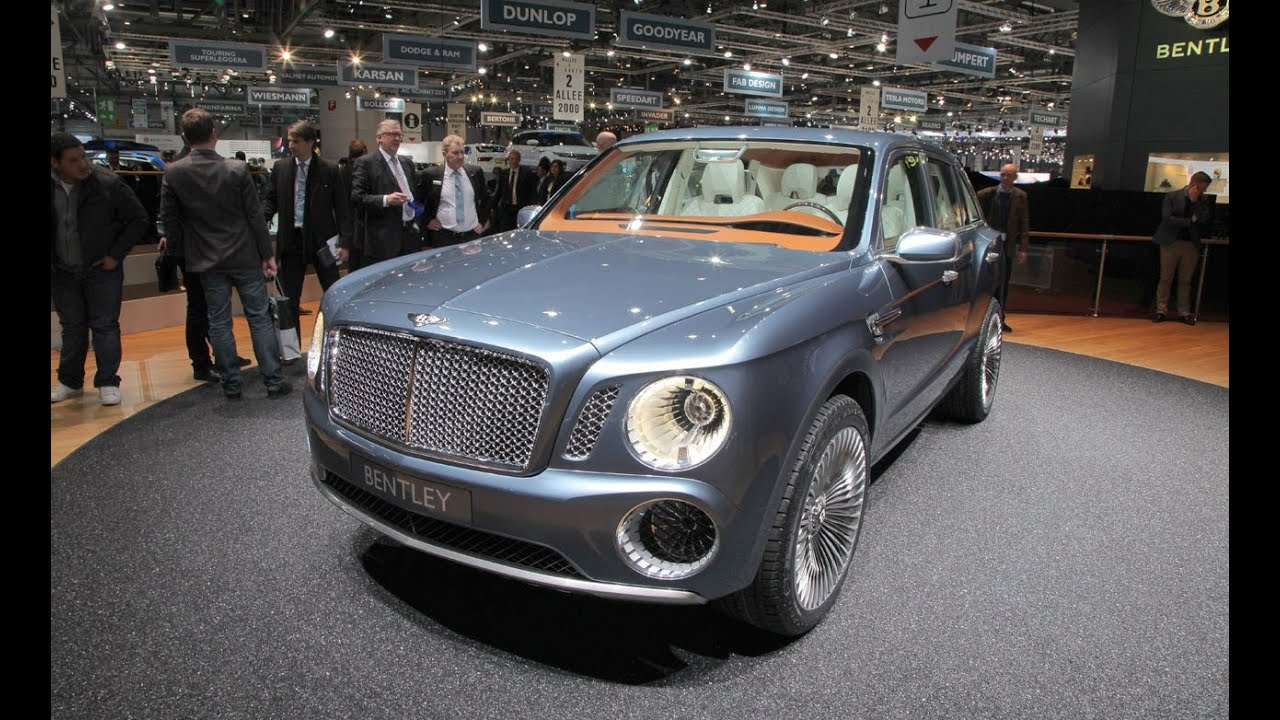 Bentley EXP 9 F Concept @ 2012 Geneva Auto Show - YouTube