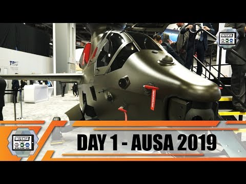 AUSA 2019 News Show Daily Association Of United States Army Defense Exhibition Washington DC Day1