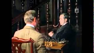 Шерлок Холмс и Ватсон играют в шахматы