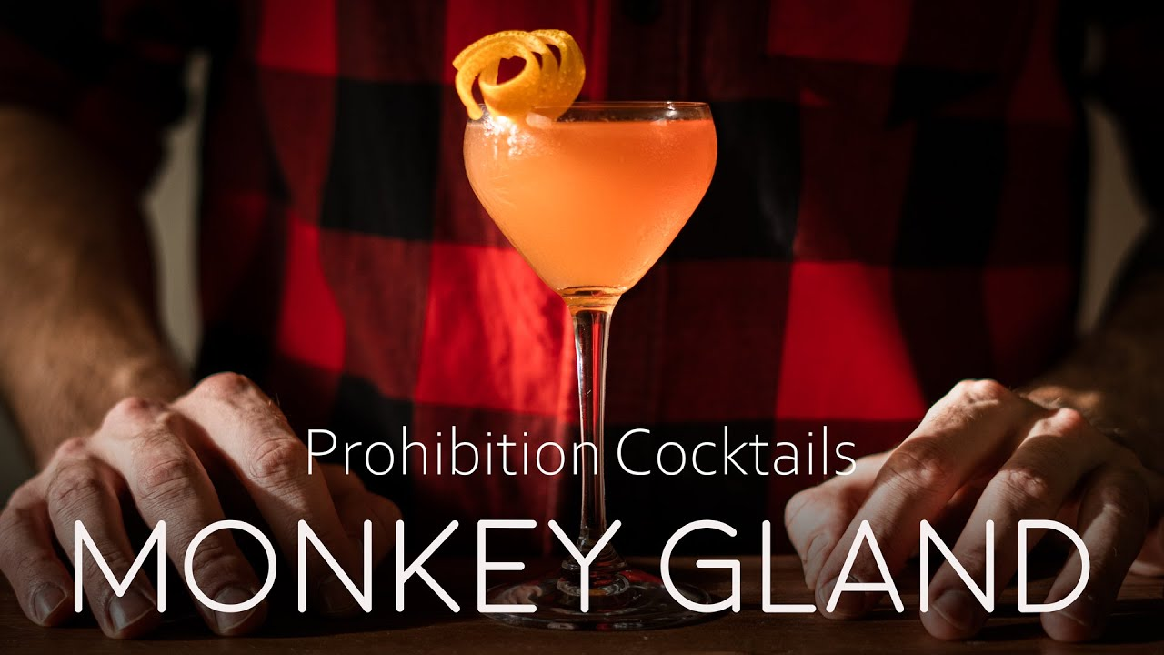 The Monkey Gland - Prohibition Cocktail