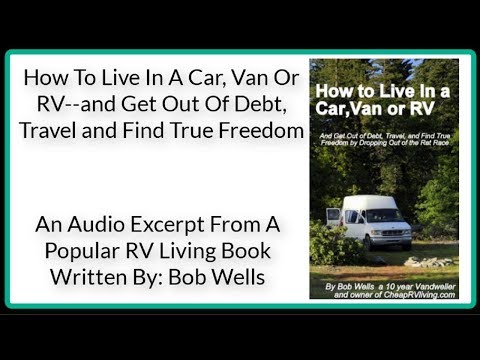 RV Living-How To Live In A Car, Van Or RV-RV Books