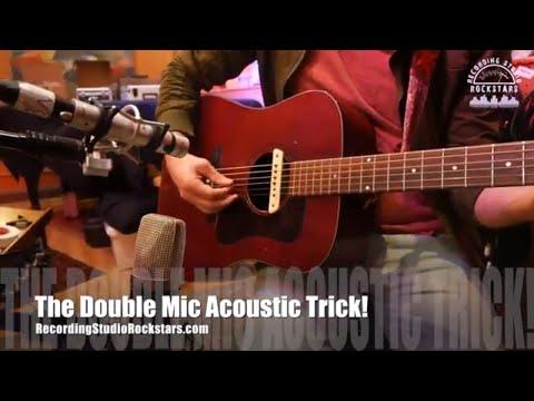 The Double Mic Tom Petty Acoustic Trick From Jim Scott - Roswell Delphos, Miktek C5, Tegeler Crème