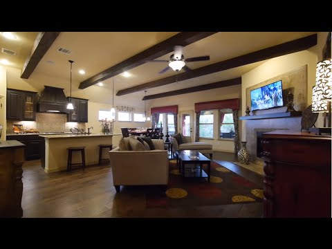 The Palm Floor Plan Model Home Tour Gehan Homes Youtube