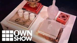 Design A Styled Coffee Table With Faboo! | #ownshow | Oprah Winfrey Network