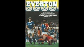 Everton Wolverhampton 06 09 80