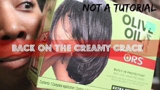 From Natural to Texlaxed (FAIL):  Watch Me Texlax (Kinda) My 4C Hair (Not a Tutorial)