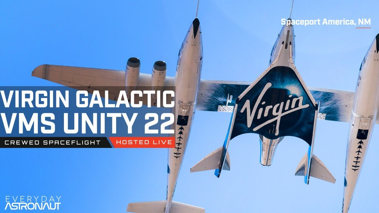Watch Richard Branson fly to space on Virgin Galactic's SpaceShipTwo!
