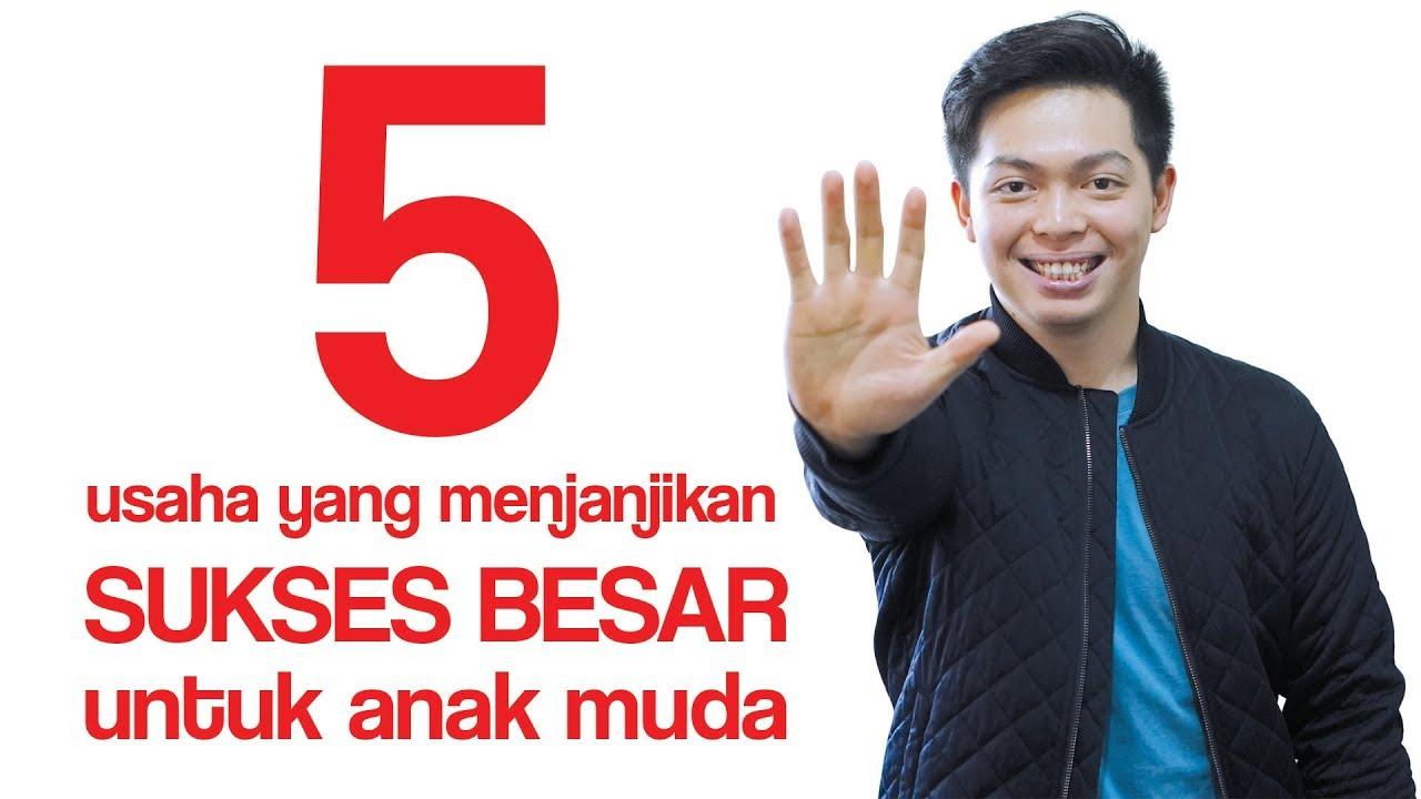 5 Usaha Yang Menjanjikan Sukses Besar Untuk Anak Muda ...