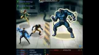 X-Men vs Apocalypse - Marvel Avengers Alliance [MAA]