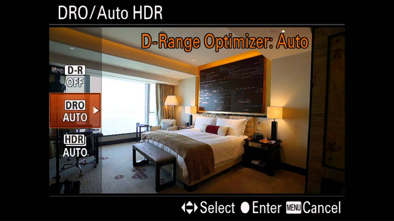how to photograph interiors with auto hdr on sony cameras - youtube